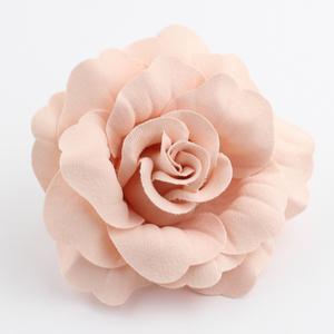 コサージュ/シンプル 薔薇 ローズ 花 ヘアクリップ 安全ピン c72☆ピンク/髪飾り 入学式 卒業式 入卒園式 結婚式 フォーマル セレモニー