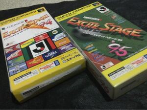 スーパーファミコン用ソフト Jリーグ エキサイティングサッカー94、95    2本セット