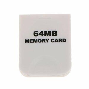 送料無料 任天堂 Nintendo Wii GCゲームキューブ対応 大容量64MB メモリーカード 互換品