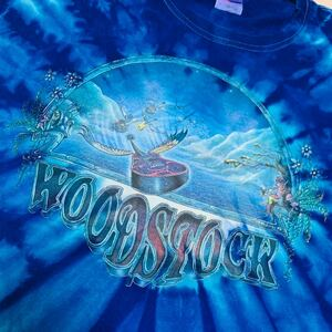 バンドTシャツMike Dubois WOODSTOCK ウッドストックフェスティバル バンド 90年代ヴィンテージ