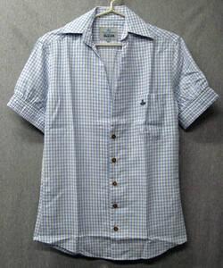 ヴィヴィアンウエストウッド MAN:半袖 シャツ 未使用 展示品 2 ( Vivienne Westwood MAN Cotton Shirt Brand New 2