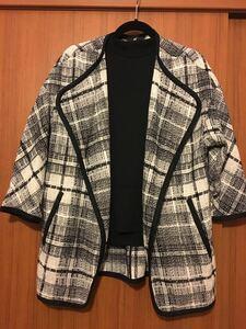 H&M ウール 羽織り コート Sサイズ