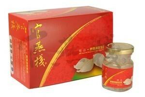 香港直送品 / 官燕棧 極品冰糖官燕(純味 無糖) 調理済み燕の巣 70g×6瓶入り