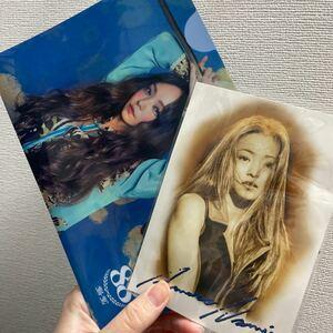 安室奈美恵 LIVEStyle 20162017 ミニクリアファイル ポストカード