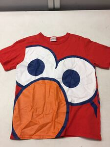 free shipping * short sleeves T-shirt * character Elmo *USJ* red red *S size *#30423mtj130