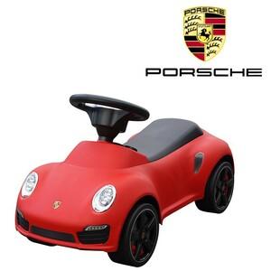 ポルシェ正規ライセンス 911ターボS 足けり乗用玩具 色レッド 赤 足蹴り式 子供用 Porsche 911 turbo s