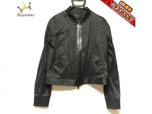 アルチザン ARTISAN ブルゾン サイズ9 M 黒 レディース ジップアップ/春・秋物 ジャケット