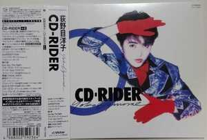 荻野目洋子 CD-RIDER 紙ジャケ [+5] 美品 小室哲哉 楽曲提供2バージョン収録