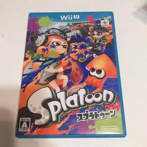 Nintendo 任天堂 wiiU スプラトゥーン ゲームソフト