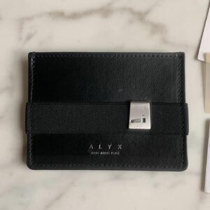 ★送料無料★え★1017 ALYX 9SM カードケース ★ブラック黒★定価28,000円+税★新品正規品