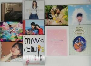 【miwa】DVD CD まとめて 10枚セット みわ