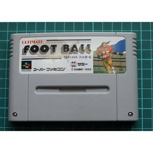 スーパーファミコン カートリッジ : ULTIMATE FOOTBALL SHVC-UF