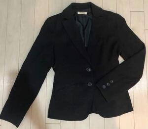 GEGRGE レディーススーツ テーラードジャケット 黒