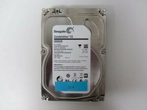 [HDD] 3TB sata Seagate ST3000NC002 3.5インチ Constellation 7200RPM/7.2K ハードディスク/データ抹消済 HDD_104