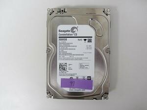 [HDD] 3TB sata Seagate ST3000NC002 3.5インチ Constellation 7200RPM/7.2K ハードディスク/データ抹消済 HDD_97
