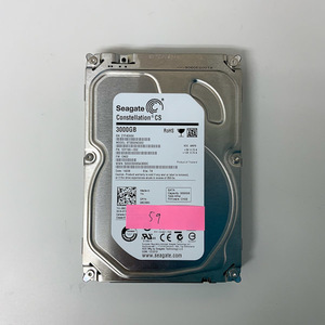 [HDD] 3TB sata Seagate ST3000NC002 3.5インチ Constellation 7200RPM/7.2K ハードディスク/データ抹消済 HDD_59