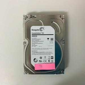 [HDD] 3TB sata Seagate ST3000NC002 3.5インチ Constellation 7200RPM/7.2K ハードディスク/データ抹消済 HDD_78