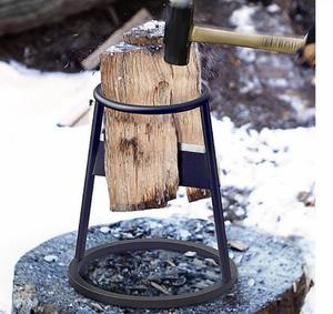 薪割り 便利 薪割り機 薪割器 薪ストーブ 木割り キャンプCZ-742
