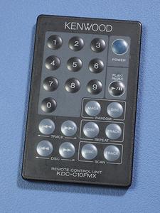 Kenwood     CD ченджер  KDC-C10FMX использование  Пульт ДУ