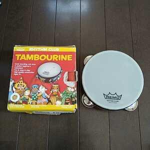 030419◆RHYTHM CLUB TAMBOURINE タンバリン◆楽器 小さな 打楽器