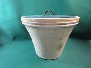 送料無料 末広水差し 緑 茶 茶道具