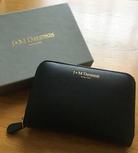 【2020年3月購入時のままお届け】J&M Davidson/ミニ革財布