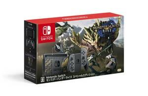 任天堂 ニンテンドー「Nintendo Switch モンスターハンターライズ スペシャルエディション」新品未使用品 保証付き