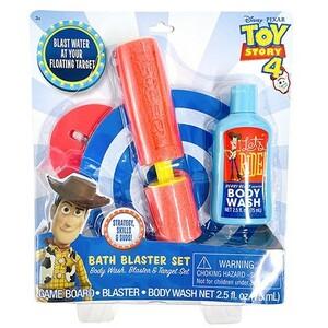 トイストーリー4 おもちゃ お風呂 水鉄砲 セット 15375 ボディーウォッシュ付き TOY STORY 的あて 水遊び お風呂のおもちゃ 子供 グッズ