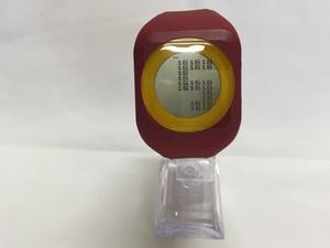【中古】ZERONE ゼロワン メンズ腕時計 クオーツ 楽天優勝記念モデル レッド[jggW]