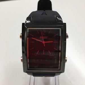 【中古】バウンサー メンズ腕時計 デジアナ ブラック T6327G[jggW]