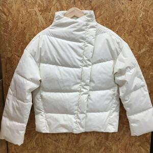 【中古】セオリー ダウンジャケット ホワイト Sサイズ[jggI]