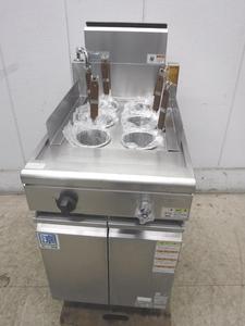 B2213◆タニコー 2014年◆ガス角型ゆで麺機(6テボ)TGUS-50A 都市ガス W500×D750×H800