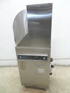 D455◆ホシザキ 2017年◆食器洗浄機(小形ドアタイプ) JW-350RUB3-L 3相200V50Hz 450×450×1220