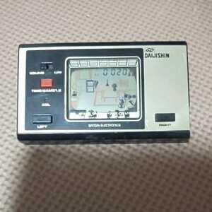ジャンク ゲームウォッチ 大地震 DAIJISHIN バンダイ ゲーム GAME&WATCH
