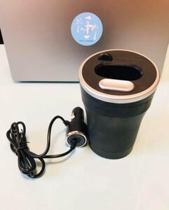 【中古】glo専用車載ホルダー 加熱式タバコスタンド glo専用充電器付き  車用灰皿