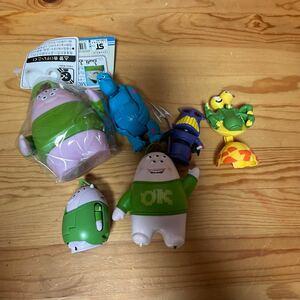 モンスターズインクのおもちゃのまとめ売りとなります。バラ売り可能ですのでお声掛けください。 3、5、6は売れました。