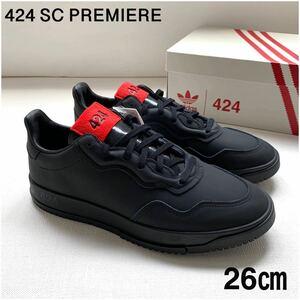 新品レア 2020SS アディダス SC PREMIERE プレミア 424 コンソーシアム リミテッドエディション スニーカー 26㎝ 黒 ブラック EG3729