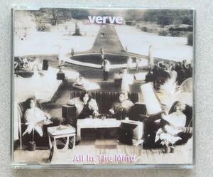 即決!The Verve「All In The Mind」中古シングルCD Hut Recordings ザ・ヴァーヴ 1992年リリース