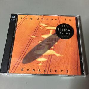 レッド・ツェッペリン Remasters ドイツ盤2枚組CD