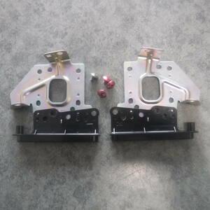 ムーヴカスタムL175Sダイハツ純正オーディオ固定ステー左右ブラケットCDデッキ取り付け金具L185Sムーブ隙間埋めトリムMOVE部品取り車あり