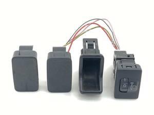 _b58875 ダイハツ ミラココア プラスG DBA-L675S レベライザー スイッチ 光軸 トリム 内装 カバー FL10 L685S