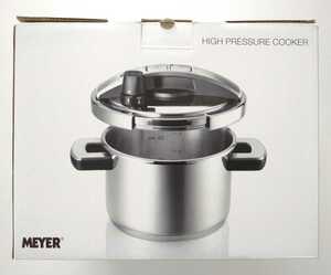 送料無料★マイヤー 圧力鍋 ハイプレッシャークッカー 4L MEYER 超高圧力鍋 IH対応 ワンタッチ開閉 両手鍋型 ステンレス 4.0L YR-PC4.0