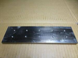 鉄 板材 215mmx60mmX10mm