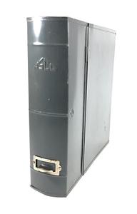 1950~60's【ASCO NEW YORK】アンティークスチールファイルボックス/ハンガー/アメリカ/ビンテージ店舗什器/ランプ/O.C.WHITE/ランプ/照明