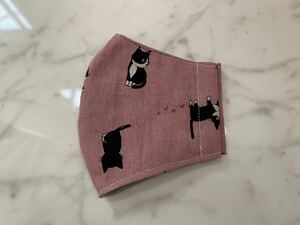 立体インナー 猫柄 ピンク