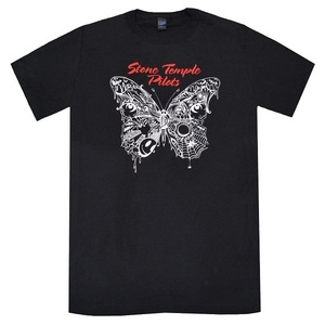 STONE TEMPLE PILOTS ストーンテンプルパイロッツ Webbed Butterfly Tシャツ Lサイズ 正規品