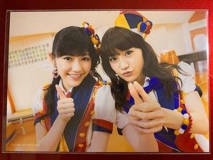 AKB48 生写真 恋するフォーチュンクッキー 渡辺麻友 大島優子 TSUTAYA特典生写真
