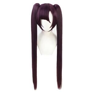 原神 げんしん 莫娜 モナ 風 ウィッグ 高温耐熱 カツラ 耐熱ウィッグ cosplay wig 仮装 変装用 コスプレ コスチューム
