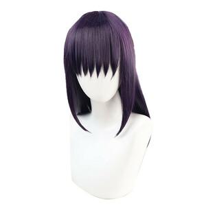 呪術廻戦 庵歌姫 風 ウィッグ 高温耐熱 カツラ 耐熱ウィッグ cosplay wig 仮装 変装用 コスプレ コスチューム