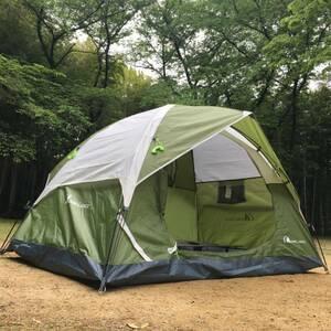 【設営簡単】ソロ テント キャンプ ツーリング 1人用 自立式 テント 防災 BBQ 避難 ソロキャン
